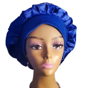 silk short bonnet