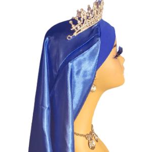 long silk bonnet